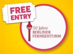 FREE ENTRY to the Berlin TV Tower