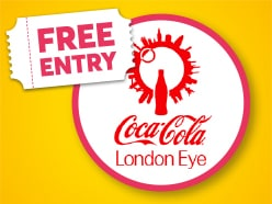 FREE ENTRY to the Coca-Cola London Eye