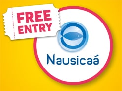 FREE ENTRY to Nausicaá Sea Centre