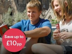 Book by 31st May & save £10pp